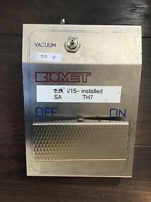 BIOMET Merck Optivac Vacuum Pump Control Footswitch Surgery Theatre use