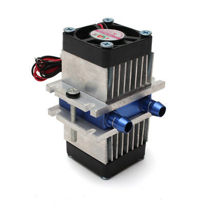 DIY Thermoelectric Peltier Refrigeration Cooling System + Fan Kit US