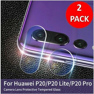 2 X Rear Camera Lens Tempered  Glass Protector  For Huawei P20 P30 Pro Mate 20