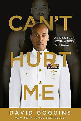 Can't Hurt Me Master Your Mind and Defy the Odds by David Goggins Free shipping
