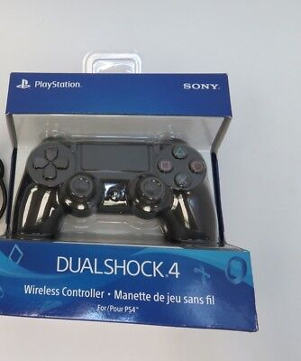 Sony PS4 PlayStation 4 DualShock 4 Wireless Controller - Jet Black