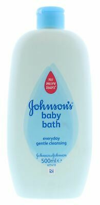 6 x Johnson's Baby Bath 500ml No More Tears Everyday Gentle Cleansing