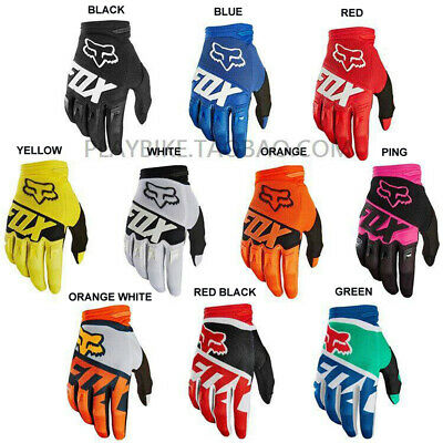 Fox bicycle gloves motorbike guantes bici y motorcross bike gloves 10 Color