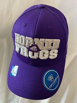 official photos 0ed94 d3866 Tcu Horned Frogs Ncaa Top Of The World Teamwork Hat Cap Adj Snapback Osfm  Nwt