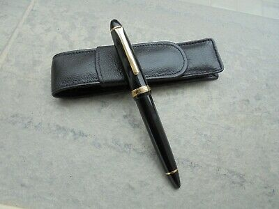 Fountain Pen (Estilografica) Sailor 1911 Stadart Nib 14K Edicion Life Time Pen