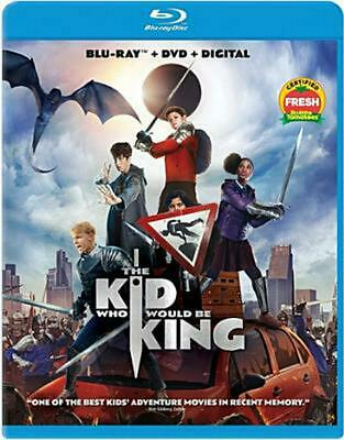 The Kid Who Would be King - Blu-Ray Region 1 Free Shipping!