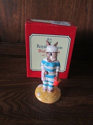 Royal Doulton~Bunnykins~Mother Bunnykins~ Figurine. Boxed