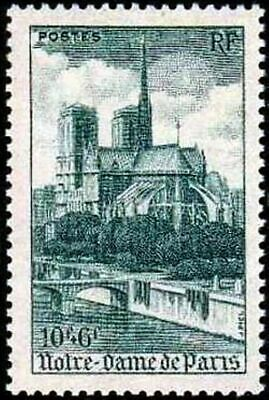 """FRANCE TIMBRE STAMP YVERT N° 776 """" CATHEDRALE NOTRE-DAME DE PARIS """" NEUF xx LUXE"""