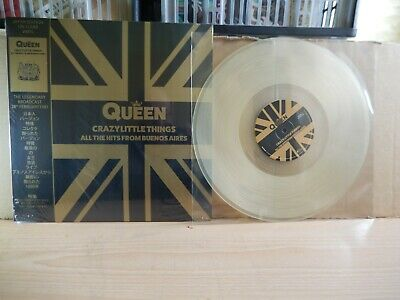 Queen - Crazy Little Things (Anglo Atlantic) Clear Vinyl LP