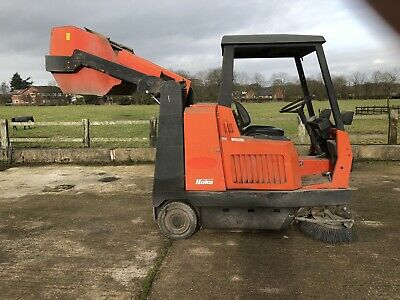 Hako-jonas 1450D Sweeper 260hrs Two/cy Engine Ready For Work £4950