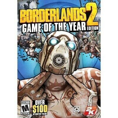 Borderlands 2 Game Of The Year [Pc] (2013) Steam Download Key 🎮🔑 (Instant)