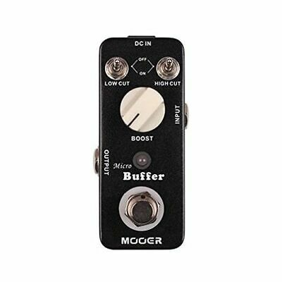Mooer Regal Tone Model M007 Micro Preamp Pedal Black