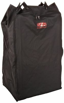 Rubbermaid 6350 Premium Step-On Linen Hamper Bag, Black NEW