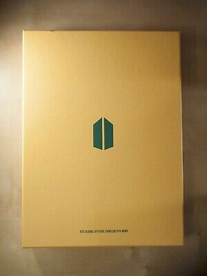 BTS ARMY 5th Global Official fanclub kit