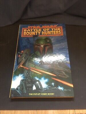 Star Wars Battle Of The Bounty Hunters Pop Up Book