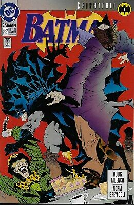 Batman (Vol.1) No.492 / 1993 Knightfall Part 1 / Doug Moench & Norm Breyfogle