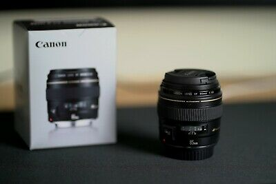 Canon EF 85mm f/1.8 USM Lens - OPEN BOX MINT CONDITION