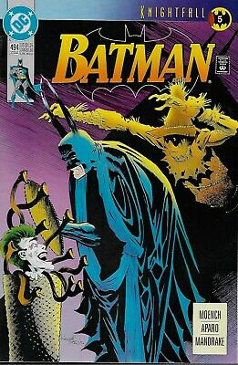 Batman (Vol.1) No.494 / 1993 Knightfall Part 5 / Doug Moench & Jim Aparo