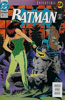 Batman (Vol.1) No.495 / 1993 Knightfall Part 7 / Doug Moench & Jim Aparo