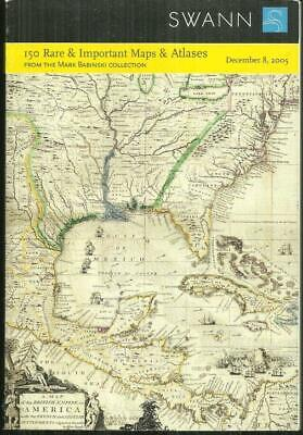 150 Rare and Important Maps and Atlases Sale 2060 December 8, 2005 Swann Auction