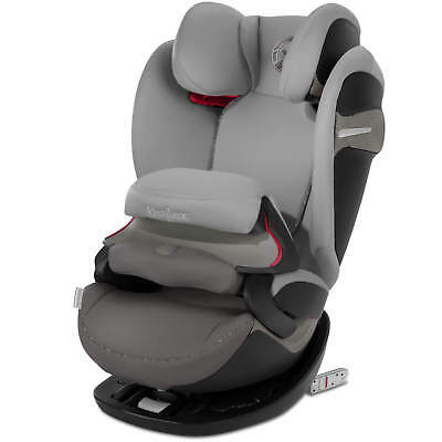 Cybex Pallas S-FIX Manhattan Grau Group 1-2-3 Child Seat Car Seat New✔️