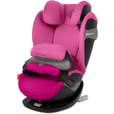 Cybex Pallas S-FIX - Fancy Pink - Group 1-2-3 Children Car Seat
