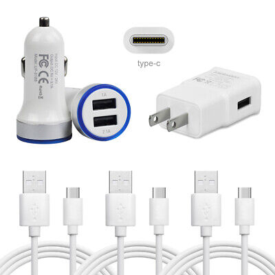 FAST CAR CHARGER Type C Cable for LG Stylo 4 V35 Q9 G7 ThinQ