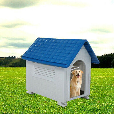Pet Dog Cat House Kennel Doggy Warm Shelter Indoor/Outdoor Windproof Waterproof