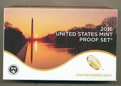 2016 Proof set - complete 13 coin set with OGP and COA