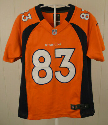 AUTHENTIC WES WELKER Denver Broncos #83 Nike NFL On Field Jersey  for cheap