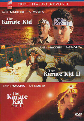 Karate Kid, Karate Kid Ii, Karate Kid Part Iii (Blue Cover) (Sony Triple F (Dvd)