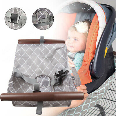 SmartBebe Baby Shopping Cart Hammock for Shopping Trolley, Baby Hammock with Bag