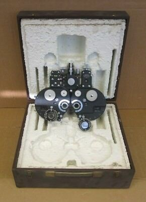 Stearman Refractor Head Model 3878 Ophthalmology Optometry Opticians Equipment