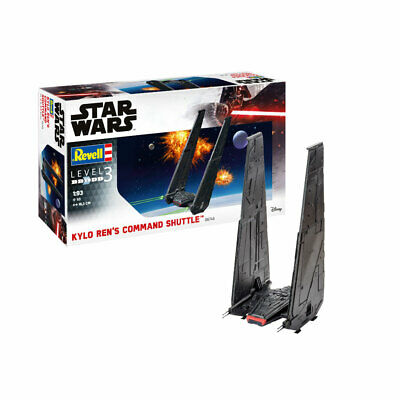 REVELL Star Wars Kylo Ren's Command Shuttle 1:93 Space Model Kit 06746