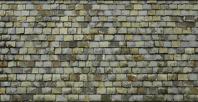 /& 5 SHEETS EMBOSSED BUMPY PAPER BRICK stone wall 21x29cm SCALE 1//6 CODE 3dd4r