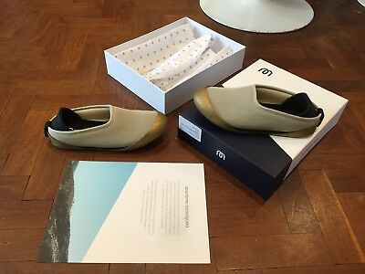 1625c664dab Mahabis Summer Slippers Beige And Gold Outdoor Soles Size UK 3 EU36 New  Boxed