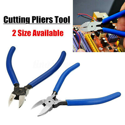 Expert Side Cutting Pliers Wire Cable Cut Cutters Electricians Hand Snips SILA