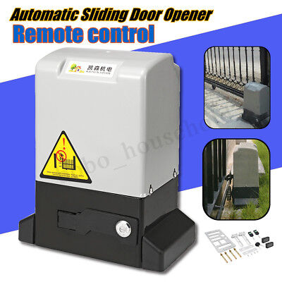 220-230V 1200kg Automatic Sliding Gate Opener Electric Operator Remote