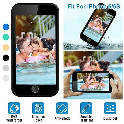Shockproof Waterproof Hybrid Rubber TPU Phone Case Cover For Cell Phone