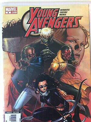 Young Avengers #9 first cover Kate Bishop as Hawkeye Marvel 1st printing NM
