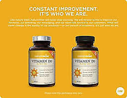 Naturewise Vitamin D3 5000 IU for Bone Health and Healthy Muscle 360 Softgels