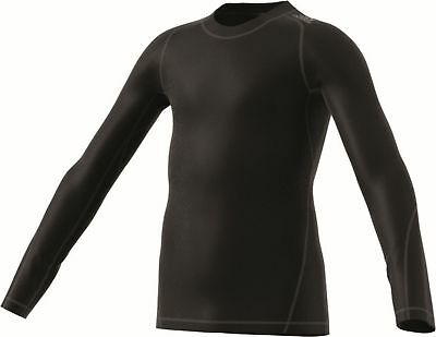 adidas Performance Kinder AlphaSkin Sport Climawarm Long Sleeve schwarz