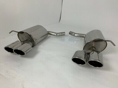 Mercedes C Class C180 C200 C220D & C250D W204 Sport AMG Quad Exit Style Exhaust
