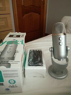 BLUE Yeti Professional USB Microphone - Silver - Currys