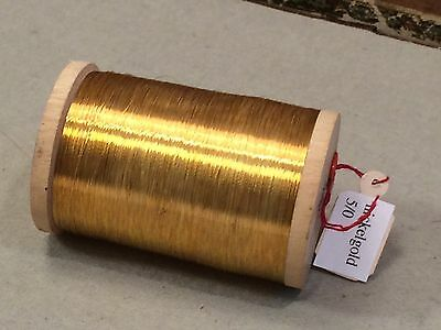 Antiker Nickel Golddraht 5/0