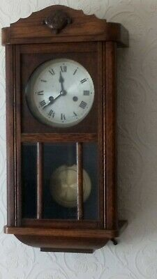 Vintage HAC Wall Clock, turn off the century, Not Working