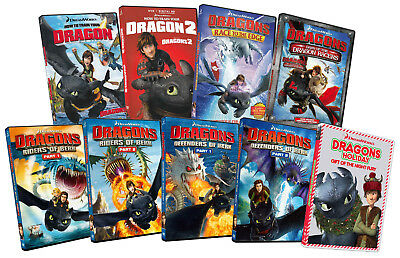 How To Train Your Dragon (The Complete Collection) (9-Pack) (Boxset) (Dvd)