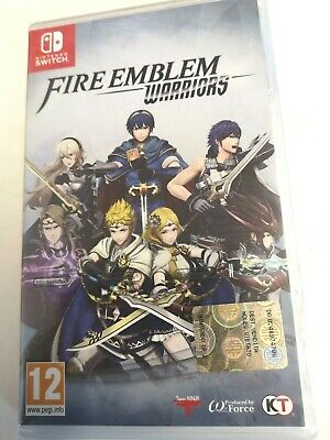 * Nintendo Switch New Sealed Game * FIRE EMBLEM WARRIORS * IT Pack