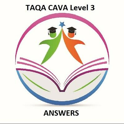Level 3 Assessing vocational achievement COMPLETED TAQA CAVA 2019