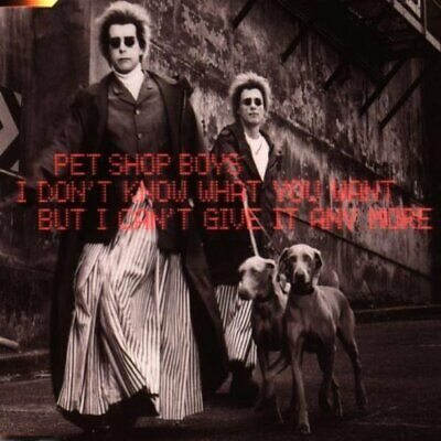 Pet Shop Boys I Don`t Know What You Want 1999 EMI CD Extra Single + Video